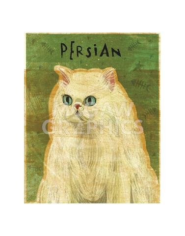 ((11x14) John W Golden Persian Art Print Poster)