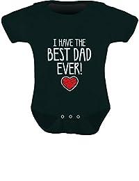 TeeStars - I Have The BEST DAD EVER Cute Unisex Baby Onesie