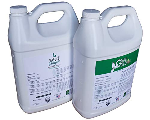 - Weed Slayer Organic Herbicide Natural Grass and Weed Control