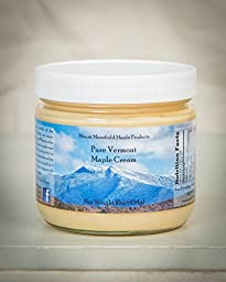 Mansfield Maple- 1 Pound Jar Pure Vermont Maple Cream