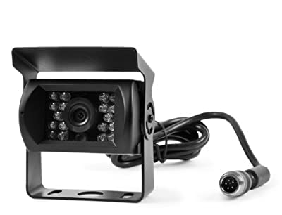 Rear View 130° CCD Back Up Camera with 18 Built in Infra-reds for Rv's Trucks Trailers