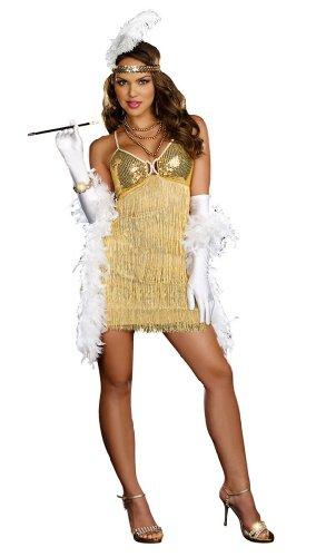 Vaudeville Vixen Costume - Large - Dress