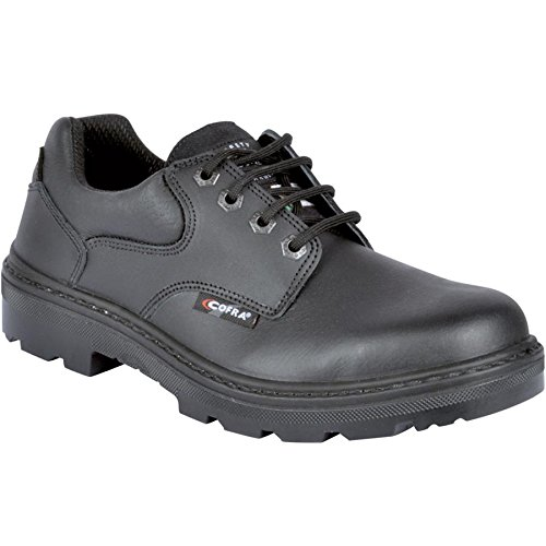 Cofra 25680-CU0.W04, 5 Small EH PR Safety Shoes, 4.5, Black