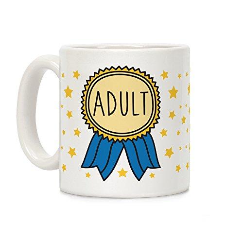 - Adult Award White 11 Ounce Ceramic Coffee Mug by LookHUMAN