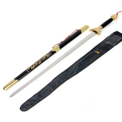 "Stainless Kung Fu Broadsword - 30"" blade"