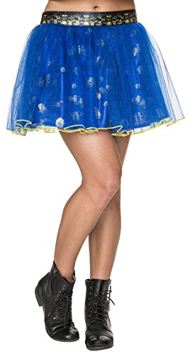 Minions Tutu Skirt, Multi, One Size (Minions Movie: Minion Kevin Adult Costume)