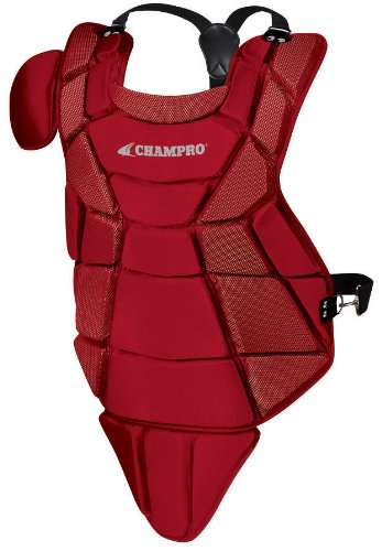 - Champro Little League Chest Protector (Scarlet, 14.5-Inch Length)