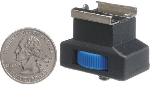 Pearstone Accessory Shoe Adapter with 1//4-20 Stud Connector 4 Pack