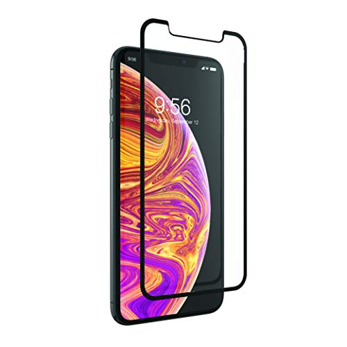 ZAGG InvisibleShield Glass+ Luxe Tempered Glass Screen Protector for iPhone Xs Max - Black