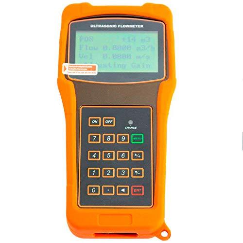 Tongbao TUF-2000H+TS-2 Digital Portable Ultrasonic Flowmeter Flow Meters with TS-2 Transducer Measuring Range DN15-100mm - Portable Ultrasonic Flow Meter
