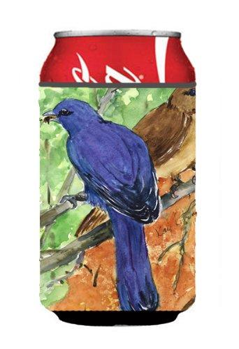 Indigo Bunting Bird - Bird - Indigo Bunting Can or Bottle Beverage Insulator Hugger