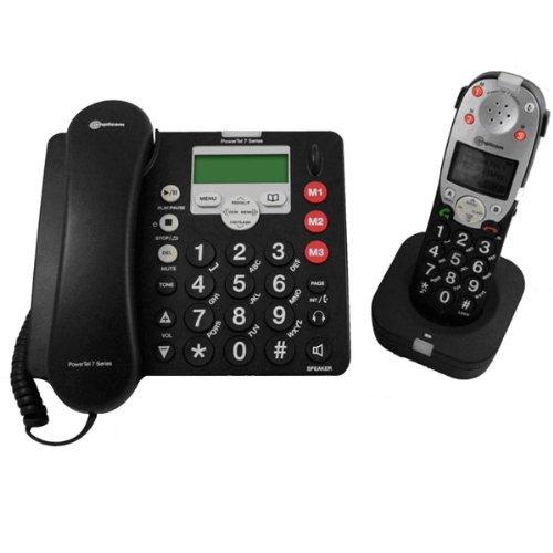 Amplicom PowerTel 780 Assure Amplified Corded Phone Kit (95514) by Amplicom