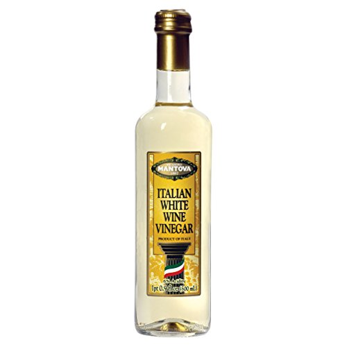 - Mantova Vinegar Wine White Italian, 17 oz