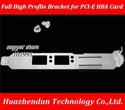 Cable Length: 1PCS Computer Cables Yoton Full High Proflie Bracket Baffle for Double Port Fiber-Optic Card EMULEX LPE12002-AP 8G PCI-E HBA Card