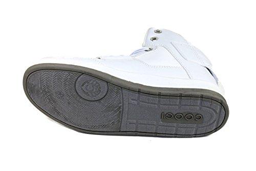 Coogi CBS435 Boy's Stein White Sneakers US 6