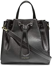 Cole Haan Leather Bucket Bag