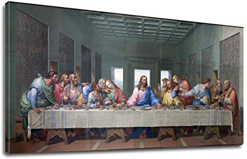 Supper Leonardo Davinci Painting Print