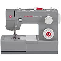 Singer Heavy Duty–Sewing Machines (Electric, Grey, Buttonhole Foot, Cover)