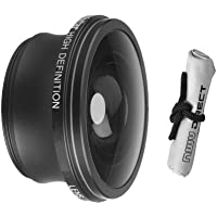 2.2x Teleconverter Lens For Sony HDR-CX150 + Stepping Ring (30mm-37mm) + Nwv Direct Microfiber Cleaning Cloth