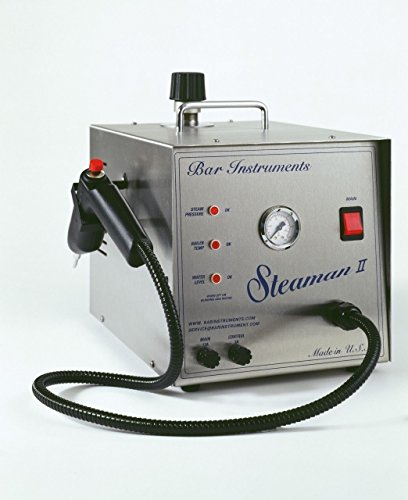 Bar Steaman II Steam Cleaner 1/2 Gallon, Dental Jewelry Made In USA NEW by Bar Steaman