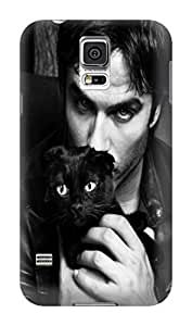 DIY Your Unique fashionable phone case and cover with Cool Ian Somerhalder Patterns For Samsung Galaxy s5