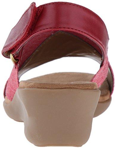 Aerosoler Kvinners Badlands Kile Sandal Red