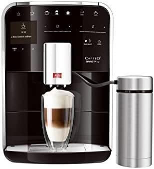 Melitta F77/0-102 - Cafetera automática, 1.8 L, color negro y gris