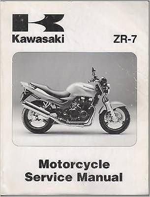 1999 2000 Kawasaki Motorcycle Zr 7 Service Manual Manufacturer