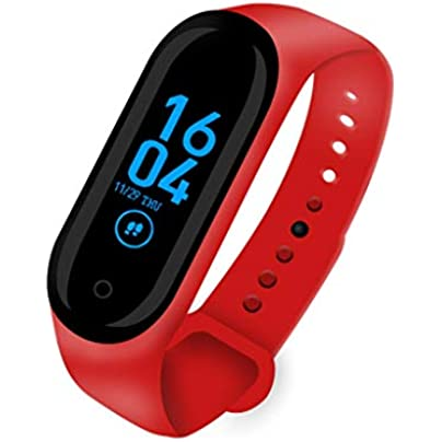 DMMDHR Smart Band Wristband Heart rate Blood Pressure Monitor Pedometer Sports Bracelet Smart Fitness bracelet Smart Watch Estimated Price £28.98 -