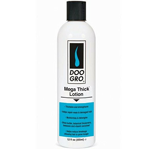 DOO GRO Mega Thick Lotion, 12 oz (3 pack) (Doo Gro Mega Thick Anti Thinning Growth Lotion)