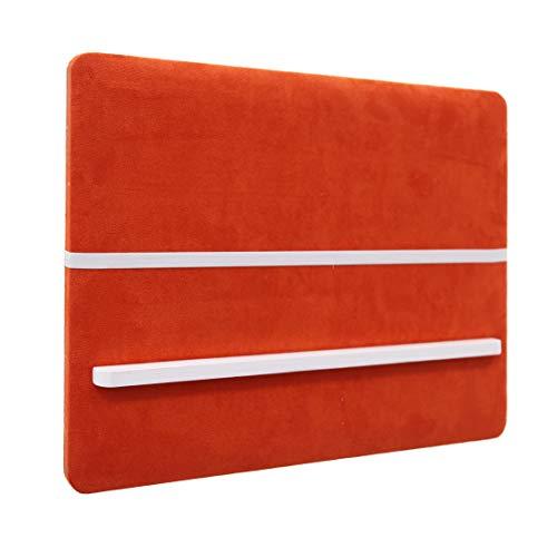 Benzara BM190198 Memo Board with Fabric Upholstery, Orange ()