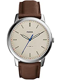 Men's FS5306 The Minimalist Three-Hand Brown Leather Watch