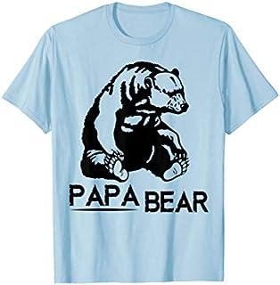 Cool Gift Papa Bear  Papa Bear  Papa Bear Tee  Women Long Sleeve Funny Shirt / Navy / S - 5XL