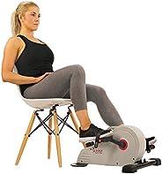 Sunny Health and Fitness Under Desk Bike Pedal Exerciser, Desk Elliptical Mini Bike