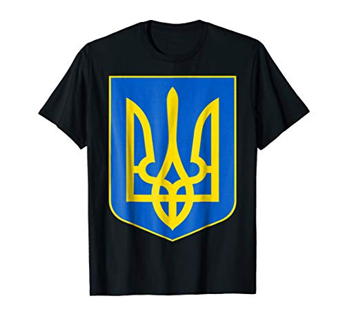 - Ukrainian Flag Ukraine Coat Of Arms Kiev Ukrainy T Shirt