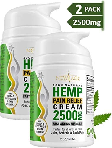 2 Pack Cream Relief New Age
