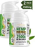 (2-Pack) Hemp Cream Pain Relief by New Age - Natural Hemp Extract Cream