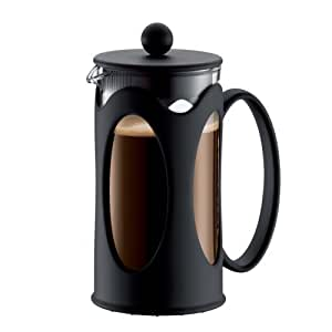 Amazon.com: Bodum New Kenya - Prensa de café, color negro ...