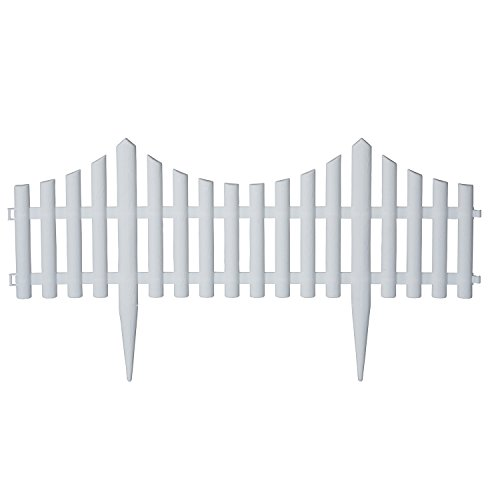Emsco Group 2140 Decorative Picket Fencing - Purchase Multiple Pieces to Create Desired Length, 24