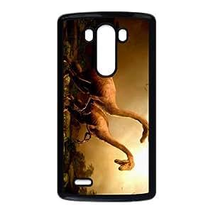 Jurassic Park LG G3 Cell Phone Case Black SA9705577