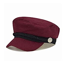 Ladies Blend Baker Boy Newsboy Cabbie Cap Visor Beret Peaked Winter Hat for Women