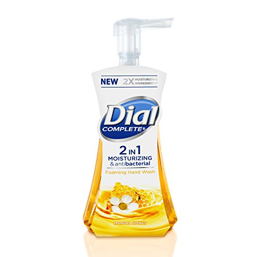 Dial Complete 2 in 1 Moisturizing & Antibacterial Foaming Ha