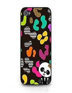 iPhone 4/4s Phone Case Classical Design Cover Case Cute Panda Pattern fit iPhone 4/4s Back Case