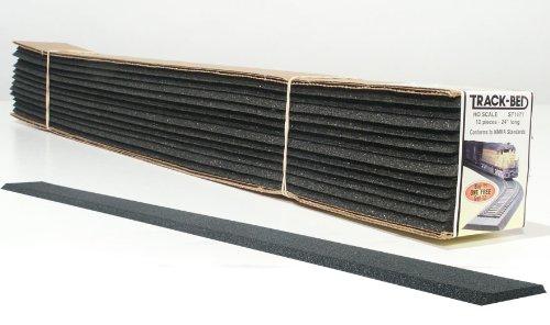 Ho Track Bed (HO 2' Track-Bed Strips (12))