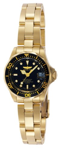 Invicta Women's 8943 Pro Diver Collection Gold-Tone Watch