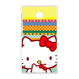 JIAJIA Hello kitty Phone Case for Nokia Lumia X case