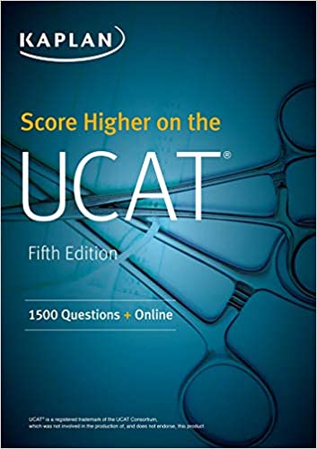 Score Higher on the UCAT: 1500 Questions + Online (Kaplan Test Prep