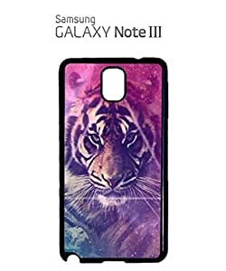 Galaxy Tiger Animal Leopard Mobile Cell Phone Case Samsung Note 3 White