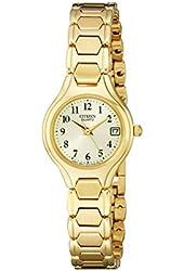 Citizen Women's EU2252-56P Gold-Tone Stainless Steel Watch