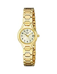 Citizen WoMen's EU2252-56P  Quartz Watch in Gold-Tone Stainless Steel